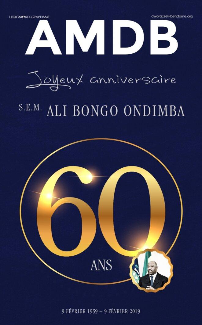 Ali Bongo Ondimba fête ses 60 ans.