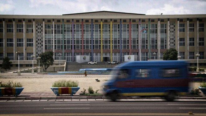 Palais du peuple de Kinshasa © Christophe Rigaud - Afrikarabia