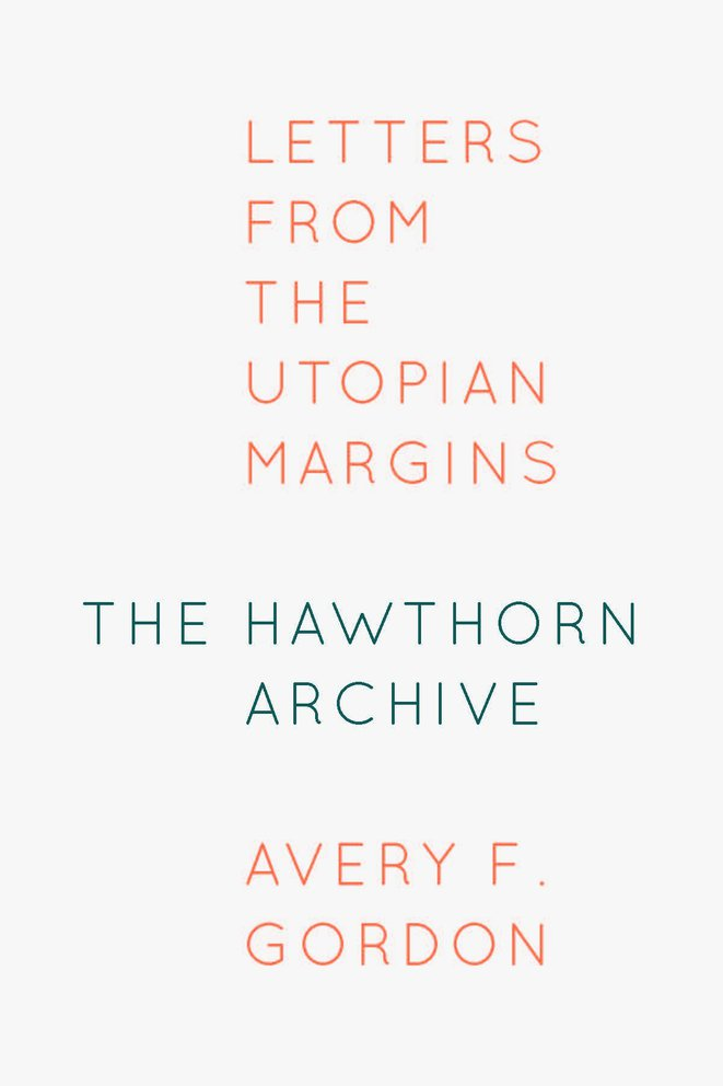 """The Hawthorn Archive"", book cover, Fordham University Press"
