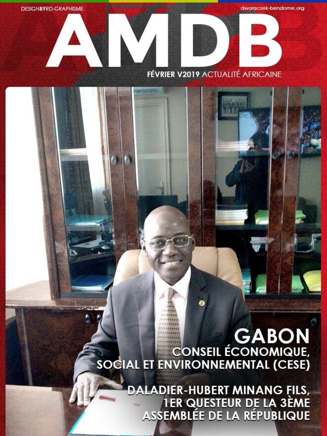 Gabon - Conseil économique, social et environnemental (CESE), Daladier-Hubert Minang Fils, 1er Questeur de la 3ème Assemblée de la république