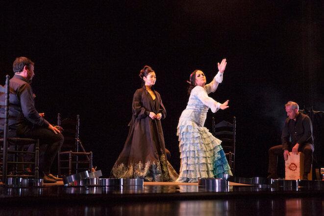 Eva La Yerbabuena et Ana Sato © Sandy Korzekwa