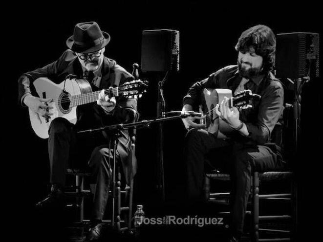 José Luis Montón et Chicuelo en mano a mano © Joss Rodriguez