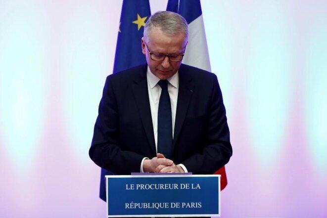 Le procureur de la République de Paris, Rémy Heitz, le 12 décembre 2018. © Christian Hartmann / Reuters