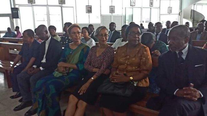 Cathédrale Saint Pierre de Libreville : Une partie de la famille Léon Mba