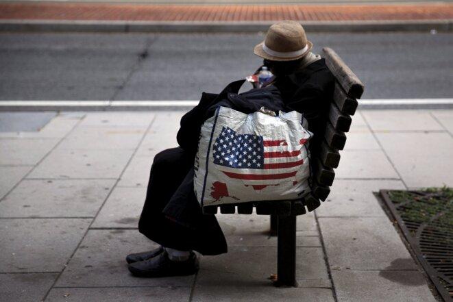 Les États-Unis comptent 40 millions de pauvres, 12 % de la population. Beaucoup d'entre eux travaillent. © Reuters