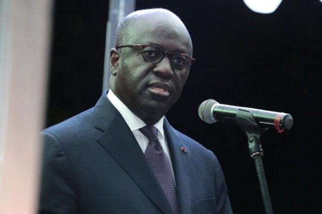 Marcel Amon Tanoh, actuel ministre des affaires étrangères de Côte d'Ivoire