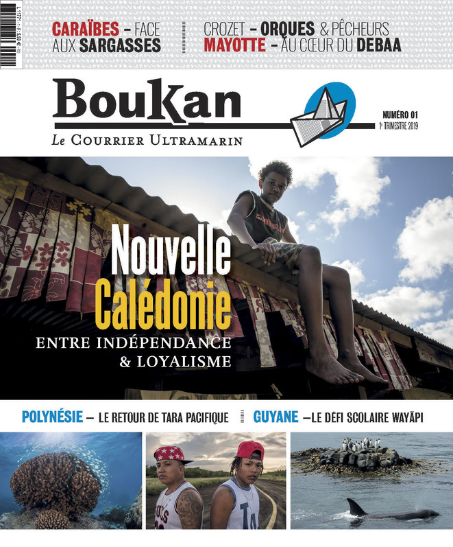 La couverture du n°1 de BouKan - Le courrier ultramarin