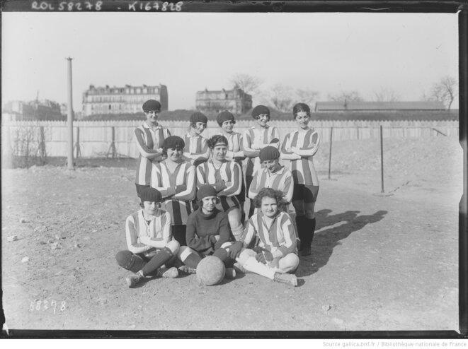 Le Fémina Sport, le premier club féminin français, le 29 Février 1920