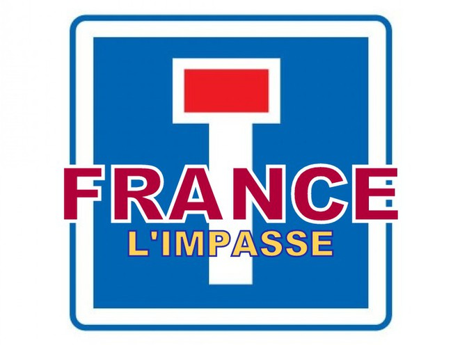 La France dan l'impasse ... © Pierre Reynaud
