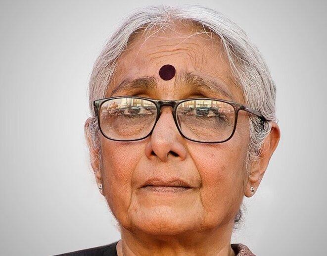 Aruna Roy en 2019. © CC/Flickr/Augustus Binu