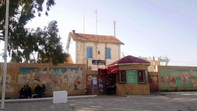 Place des Martyrs à Kasserine. © Lilia Blaise
