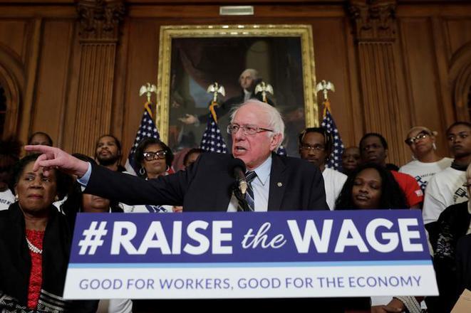Bernie Sanders en janvier. © Reuters