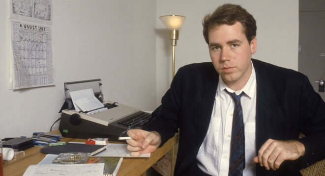 Bret Easton Ellis en 1987 © Bernard Gotfryd