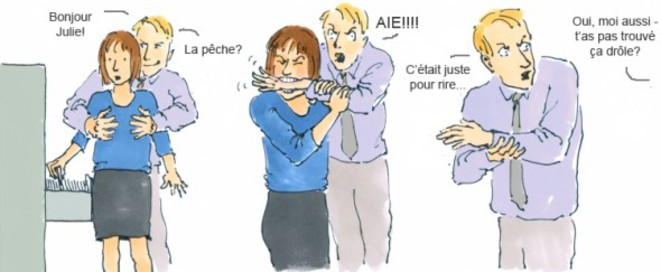 halte au harcèlement