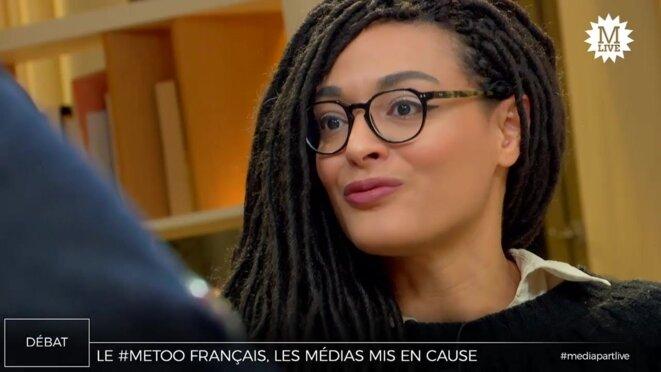 Mélanie Wanga © Mediapart