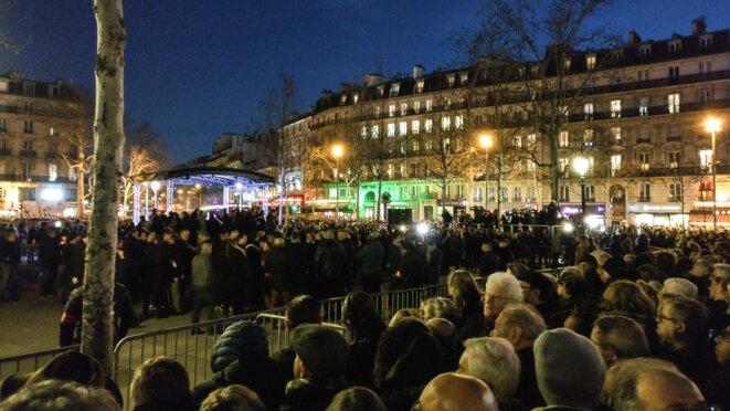 Rassemblement contre l'antisémitisme à Paris place de la république le 19 février 2019 © Christian DROUET
