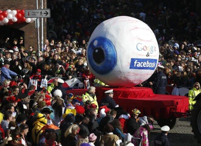 Au carnaval de Dusseldorf, en février 2015. © Reuters
