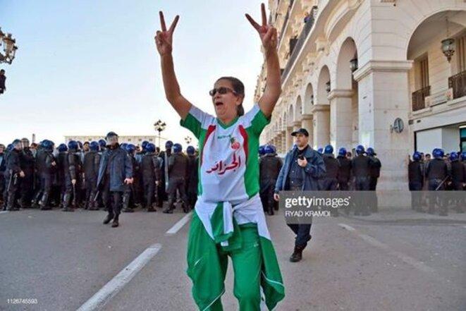 Manifestation anti-5ème mandat à Alger