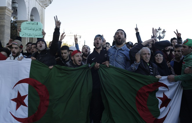 Algérie, manifestation