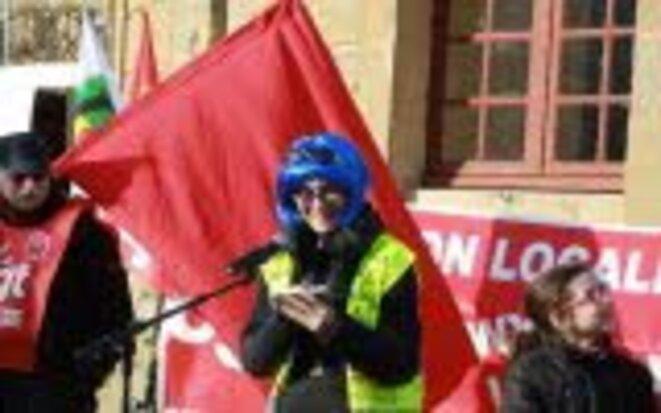 Manifestation Gilets jaunes Longwy - 5 février 2019 © Le Républicain Lorrain