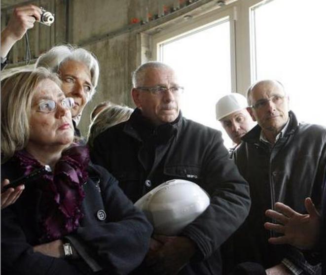 La maire LR de Sens Marie-Louise Fort. © Reuters