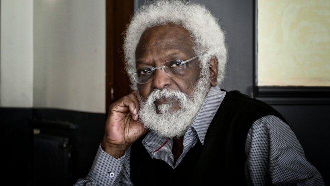 Mohamed Kadamy à Paris en février 2019 © Ch. Rigaud - Afrikarabia