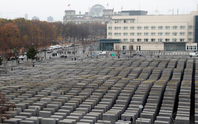 Le mémorial de l'Holocauste à Berlin. © Reuters / Fabrizio Bensch.