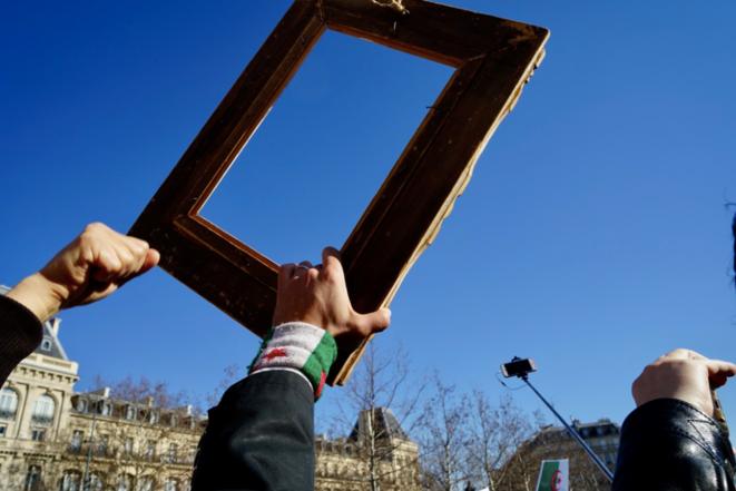 L'Algérie ne veut plus voter pour un cadre. © Rachida El Azzouzi