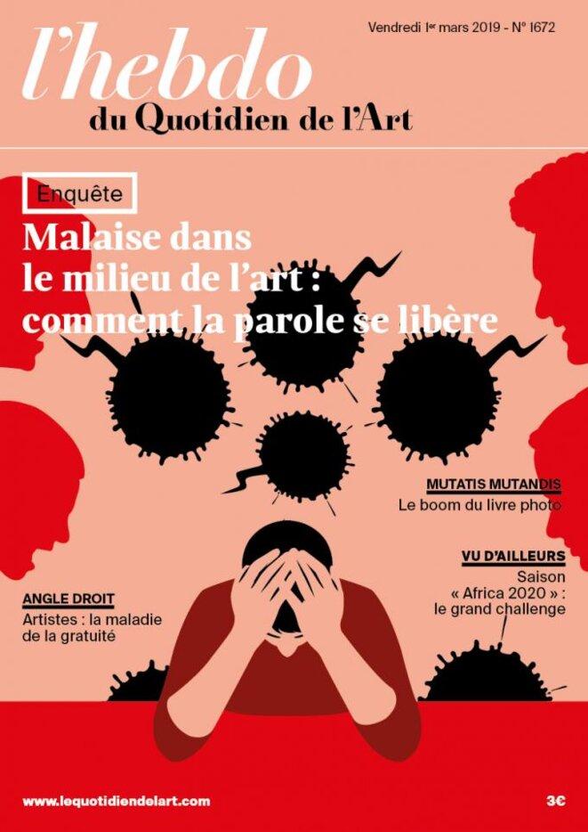 L'Hebdo du Quotidien de l'art, numéro 28 - 1er mars 2019