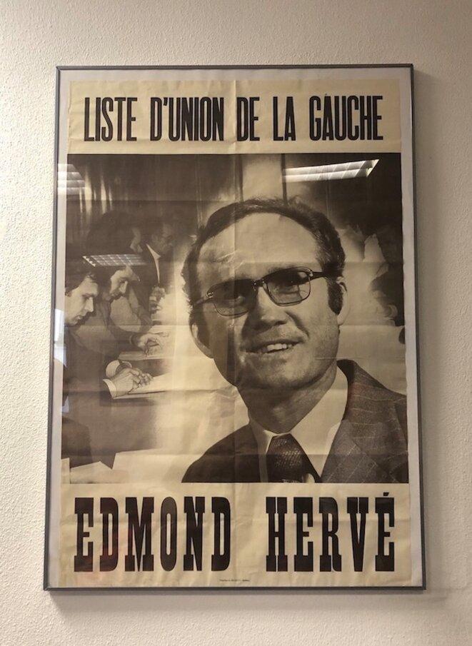 Dans la permanence PS de Rennes. © ES