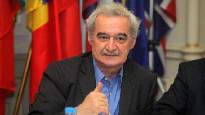 Nikos Chountis, MEP of Popular Unity, former deputy minister