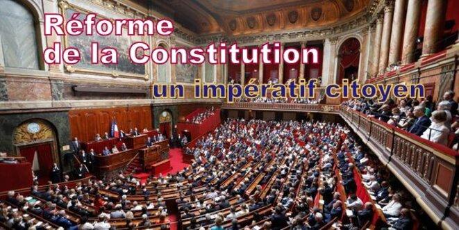 Réforme de la Constitution © Pierre Reynaud