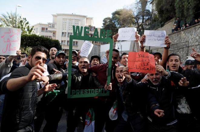 À Alger, le vendredi 1er mars 2019. © REUTERS/Zohra Bensemra