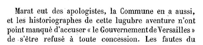 Début des « Convulsions de Paris » de Maxime Du Camp, contempteur enragé de La Commune...