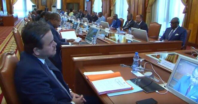 Gabon-Libreville-Président Ali Bongo -Conseil des ministres du 26 Février 2019