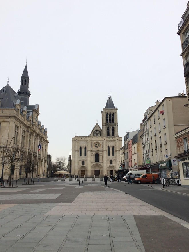 Place Jean Jaurès, Saint-Denis, Février 2019 © Max Fraisier-Roux