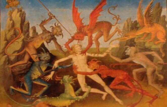 Les 7 péchés capitaux, Jérome Bosch © DR