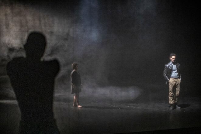 """Scène de """"Les disparitions"""" ' par Eddy D'aranjo © Jean-Louis Fernandez"""