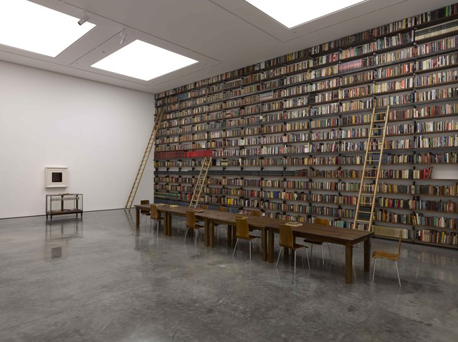 My Labour is my Protest at the Johnson Editorial Library (2011) White Cube exhibition © Theaster Gates