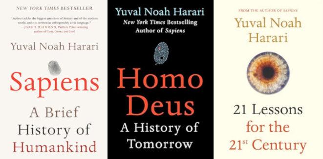 La trilogie, best-seller mondial, d'Harari