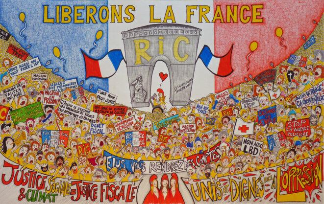 Libérons la France © Mélanie Body
