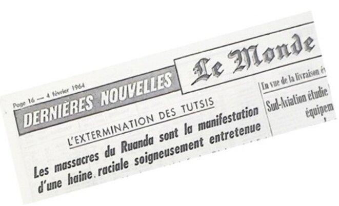 Le Monde du 4 février 1964