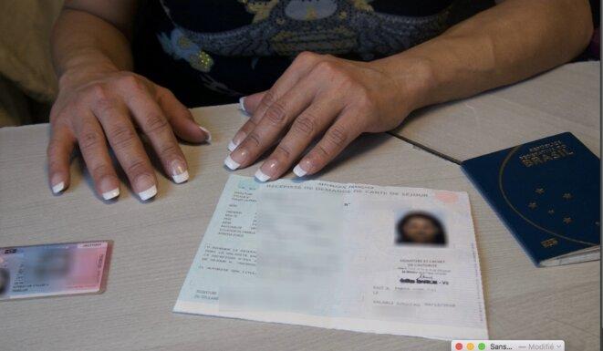 Érika a reçu une obligation de quitter le territoire français. © LF