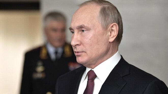 Vladimir Poutine. © Kremlin.ru