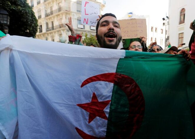 À Alger, le 5 mars. © Reuters
