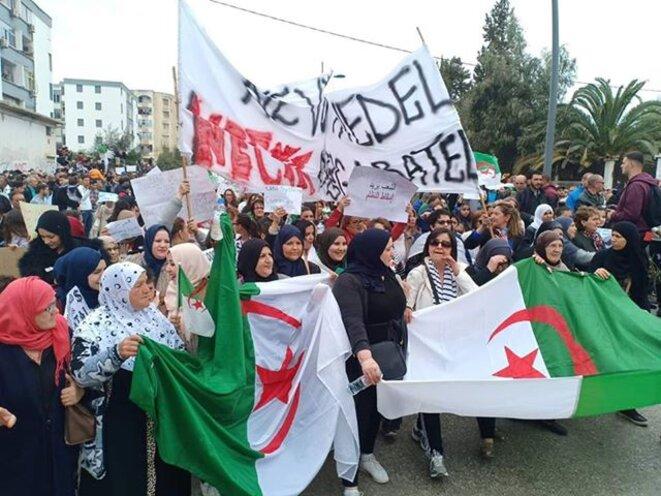 Manifestation à Annaba, le 8 mars. © (dr)