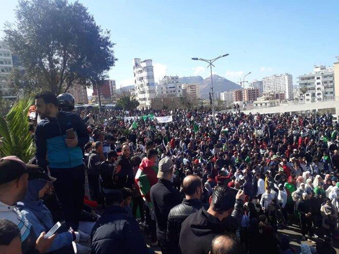 Manifestation à Oran, ce 8 mars. © (dr)
