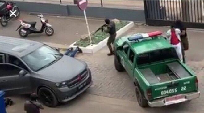 Arrestation musclée et spectaculaire