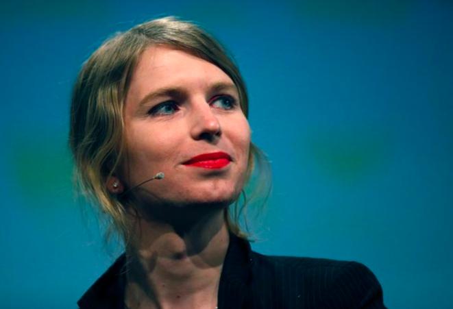 Chelsea Manning lors d'une conférence à Berlin, le 2 mai 2018 © Reuters
