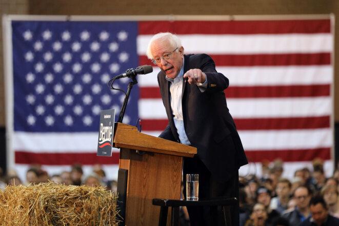Bernie Sanders le 9 mars 2019 à Des Moines dans l'Iowa © Reuters / Scott Morgan.
